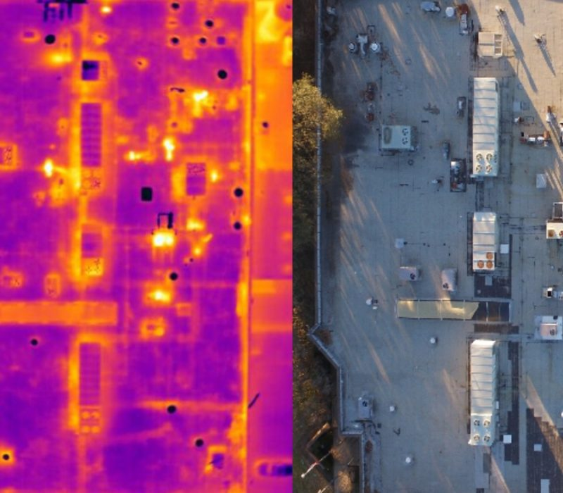 Commercial Roof Thermal Imaging